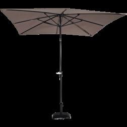 Libra, Parasol taupe 2,5x2,5mtr