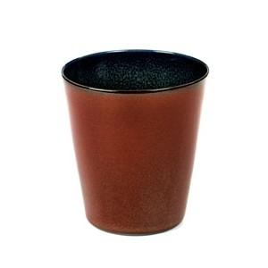 Serax koffie mok 9,5cm Rust Dark Blue