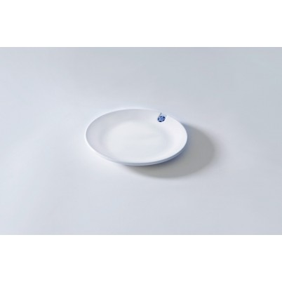 Touch of Blue Plate M 17cm