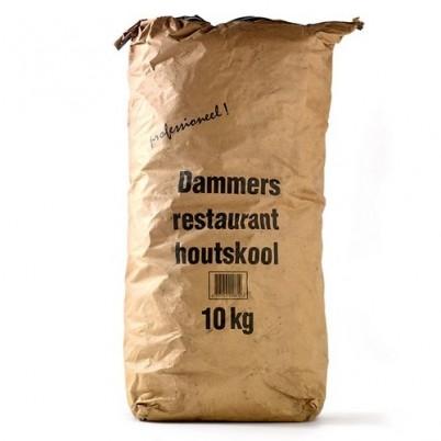 Houtskool 10kg Dammers