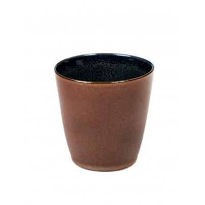 Serax koffie beker 7,5cm Rust Dark Blue