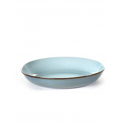 Serax Pasta Bord 23cm Light Blue Smokey Blue