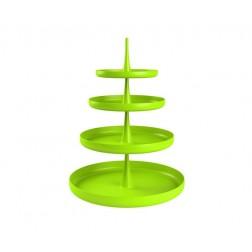 Etagère Sombrero 4-delig stapelbaar Groen