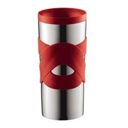 Travel Mug, Vacuum Mok 0.35L, Rood