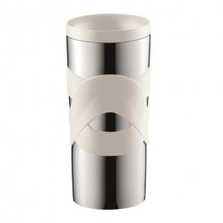 Travel Mug, Vacuum Mok 0.35L, Creme
