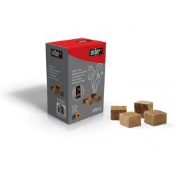 Aanmaakblokjes, 48 stuks, bruin, ecologisch