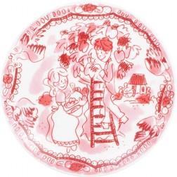 Bord 12 cm Romance rose