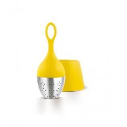 Thee ei, Drijvend met houder geel