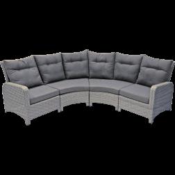 Loungebank Soho Brick rond