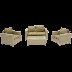 Bari, Loungeset off white