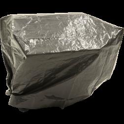 Beschermhoes grijs BBQ rechthoekig