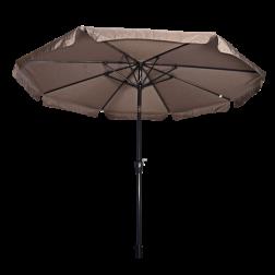 Parasol Libra taupe Ø 3 meter