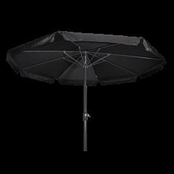 Parasol Libra zwart Ø3,5 meter