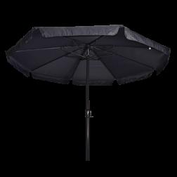 Parasol Libra grijs Ø3,5 meter