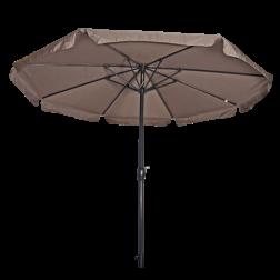 Parasol Libra taupe Ø3,5 meter