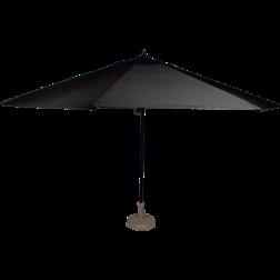 Virgo, Parasol zwart 4mtr