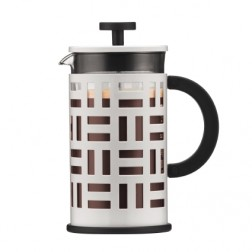 Cafetiere 4 kops, 0.5L rvs glans