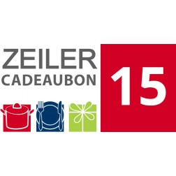 Cadeaubon Zeiler - 15 euro