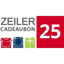 Cadeaubon Zeiler - 25 euro