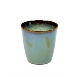 Serax koffie beker 7,5cm smokey blue