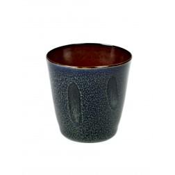 Serax koffie beker 7,5cm Dark Blue Rust