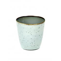 Serax koffie beker 7,5cm Light Blue Smokey Blue