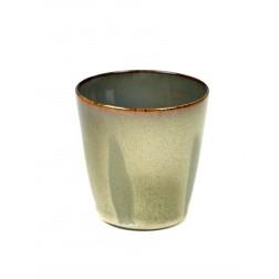 Serax koffie beker 7,5cm Mist Grey