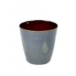 Serax koffie beker 7,5cm Smokey Blue Rust