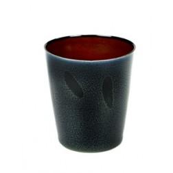 Serax koffie mok 9,5cm Dark Blue Rust