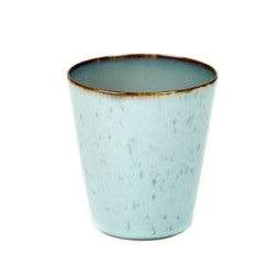 Serax koffie mok 9,5cm Light Blue Smokey Blue