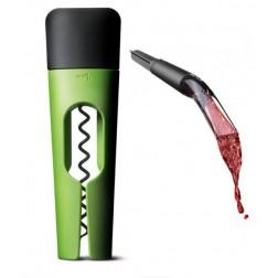 Blade, Wijnset Kurkentrekker Twist, groen