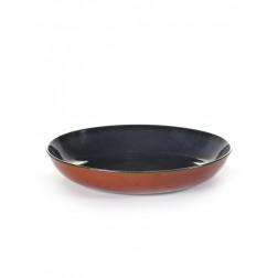 Serax Pasta Bord 23cm Dark Blue Rust