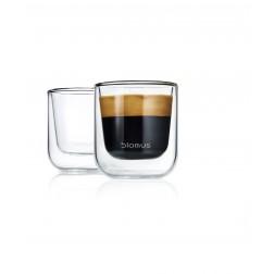 Espresso Glazen dubbelwandig set van 2