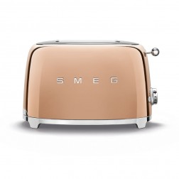 Smeg Broodrooster 2x2 Rose Gold