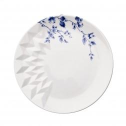 Ontbijtbord 21cm Blauw Vouw