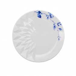 Dinerbord 27cm Blauw Vouw