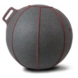 Vluv zitbal Grey-Melange / Red 75cm