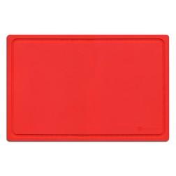 Snijplank rood 38x25cm